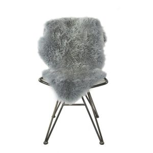 Silky Sheepskin Light Grey