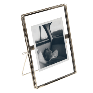 Silver Standing Gallery Style Photo Frame 15x10cm