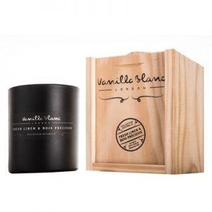 Vanilla Blanc Soy Candle Fresh Linen