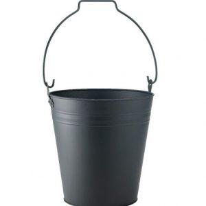 Coal Bucket with Black Handle