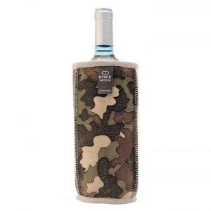 Natural Sheepskin Wine Cooler Camouflage