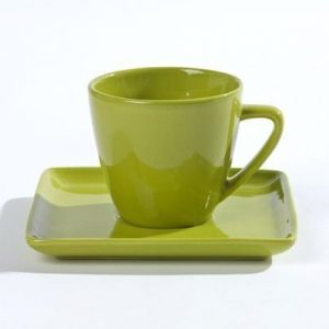 Pantone Cup and Saucer Citronelle