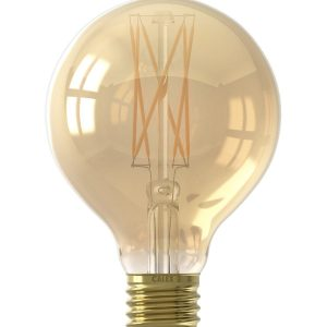 E27 Filament LED Gold Small Globe Bulb (Dimmable)