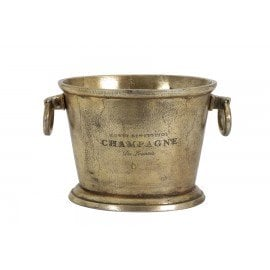 Champagne Cooler in Antique Bronze
