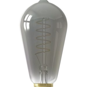 Get creative with the 'curly' filaments in this series. These dimmable bulbs give a warm glow and are meant to be seen.