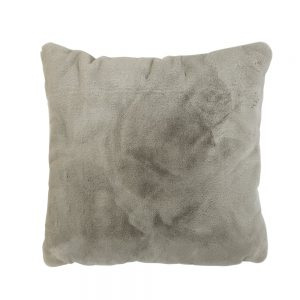 Taupe Faux Fur Cushion