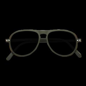 Izipizi # I Aviator Sunglasses Khaki Green