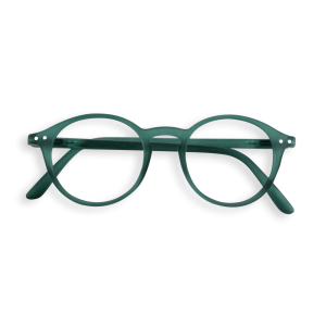 Izipizi #D  Reading Glasses (Spectacles) in Green Crystal