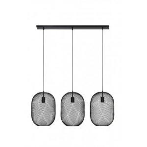 Black Triple Mesh Pendant Lamps