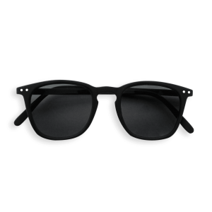 Izipizi #E Sunglasses Black Grey Lenses