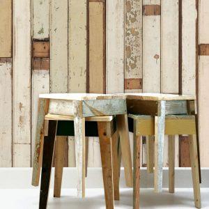 NLXL Scrapwood Wallpaper