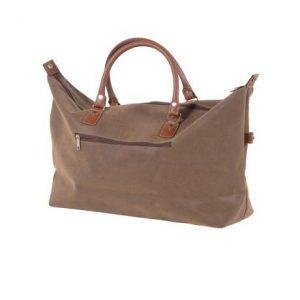Large Brown Travel Bag