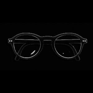 Izipizi #F Foldable Frame Reading Glasses (Spectacles) in Black