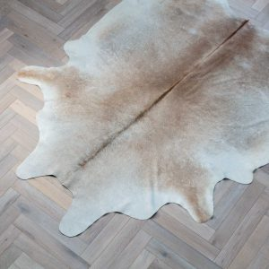 Reddish Brown Dyed Cow Hide