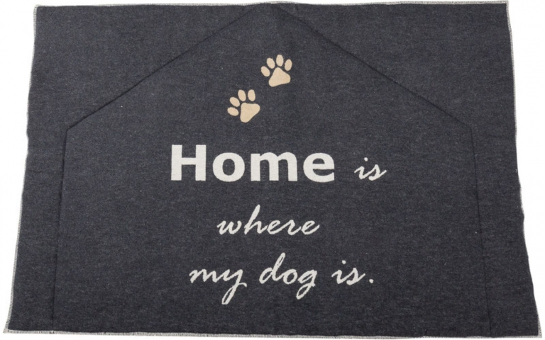 Dog Mat Padded 'Home is where my dog is'