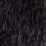Silky Sheepskin Rug Black Large