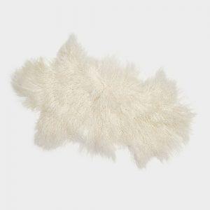 Ivory Tibetan Sheepskin