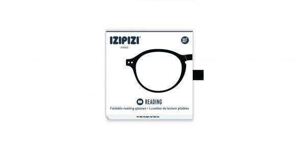 Izipizi #F Foldable Frame Reading Glasses(Spectacles)Black