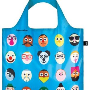 Loki Stephen Cheetham's Faces Bag Blue