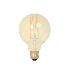 Filament E27 LED Medium Globe Bulb Gold (Dimmable)