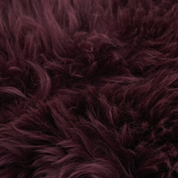 Silky Sheepskin Mulberry Large