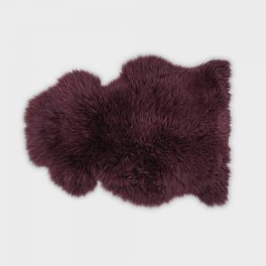 Silky Sheepskin Mulberry Large