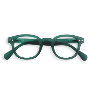 Izipizi #C Reading Glasses(Spectacles)Green Crystal