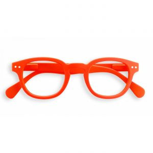 Izipizi #C Reading Glasses(Spectacles)Orange Neon