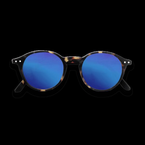 Izipizi #D Sunglasses Tortoise with Blue Mirror Lenses