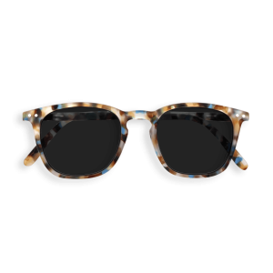 Izipizi #E Sunglasses Blue Tortoise Grey Lenses