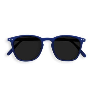 Izipizi #E Sunglasses Navy Blue with Soft Grey Lenses