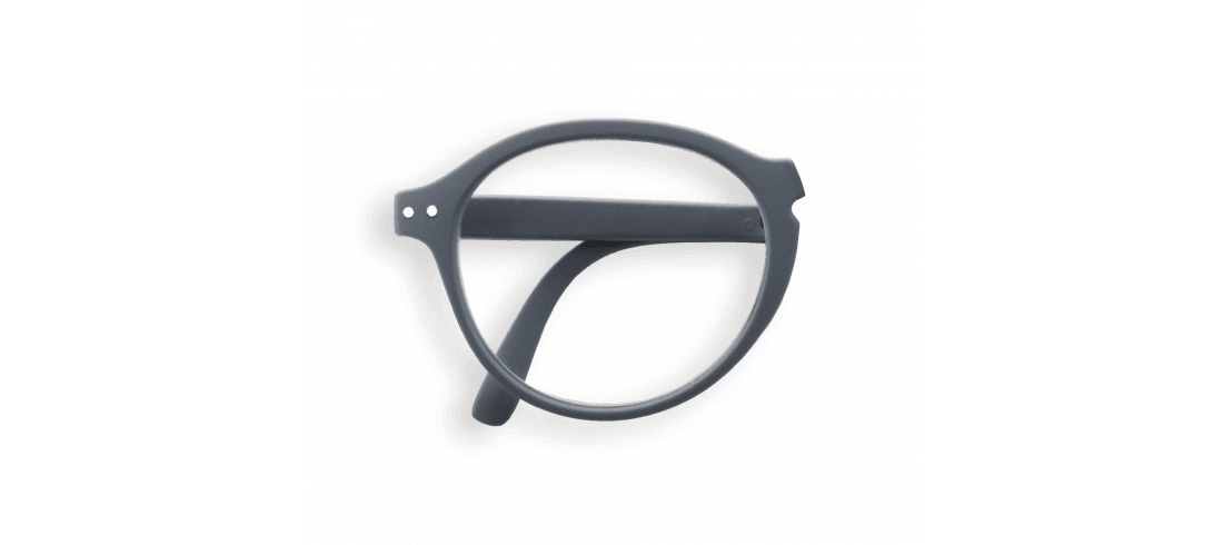 Izipizi #F Foldable Frame Reading Glasses Grey