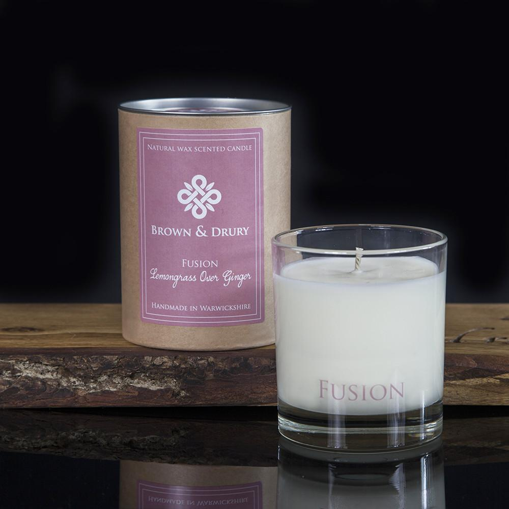 Brown and Drury Fusion Lemongrass Candle