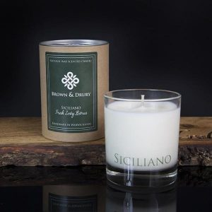 Brown and Drury Siciliano Candle