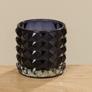 Geometric Glass Wind light Blue