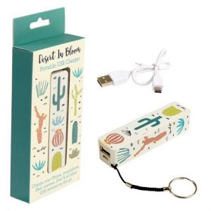 Desert In Bloom Portable USB Charger