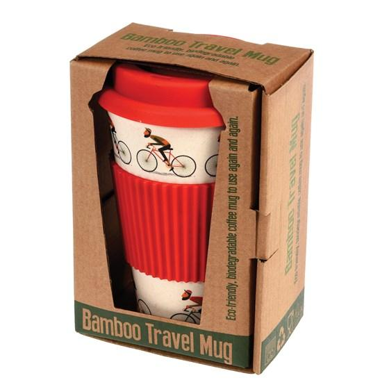 Le Bicycle Bamboo Travel Mug
