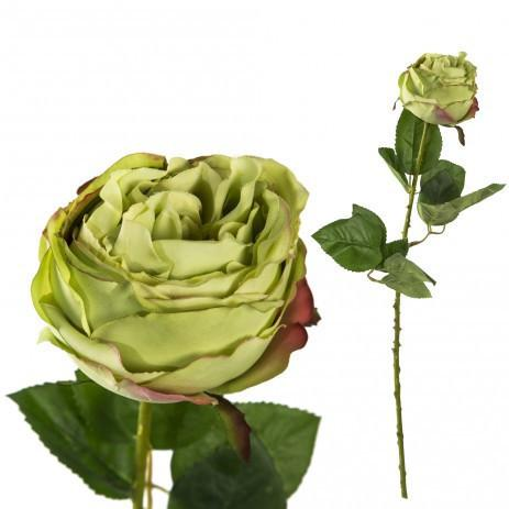 Faux Green Rose