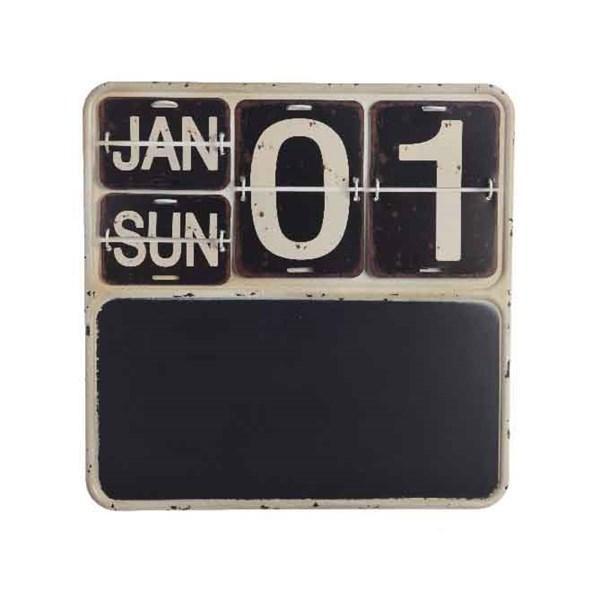 Iron Calendar with Blackboard