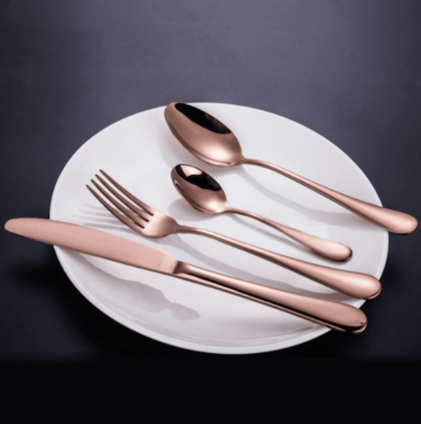 Cutlery - Stainless Steel Rose Gold