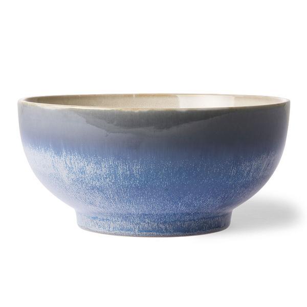 Large Ceramic 70's Style Salad Bowl