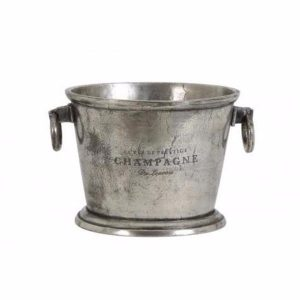 Cristal Nickel Antique Champagne Cooler
