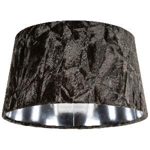 Crushed Velvet Lampshade Moss Green