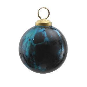 Christmas Decoration – Blue Glass Bauble