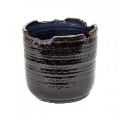 Irregular Rim Black Pot