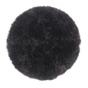 Curly Sheepskin Seat Pad in Anthracite