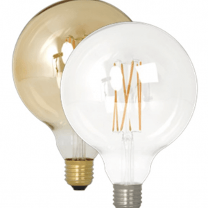 Filament LED Clear Globe Bulb (Dimmable)