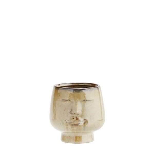 Face Flower Pot Small