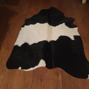 Cow Hide XS Black/White