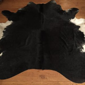 Cowhide, Black and White , large